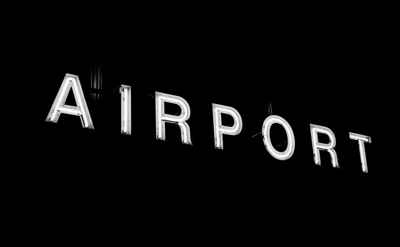 sign-airport-neon-illuminated-area
