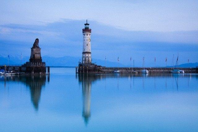 La mejestuosidad del lago que une tres países Europeos