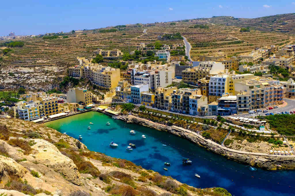 Xlendi.Malta.