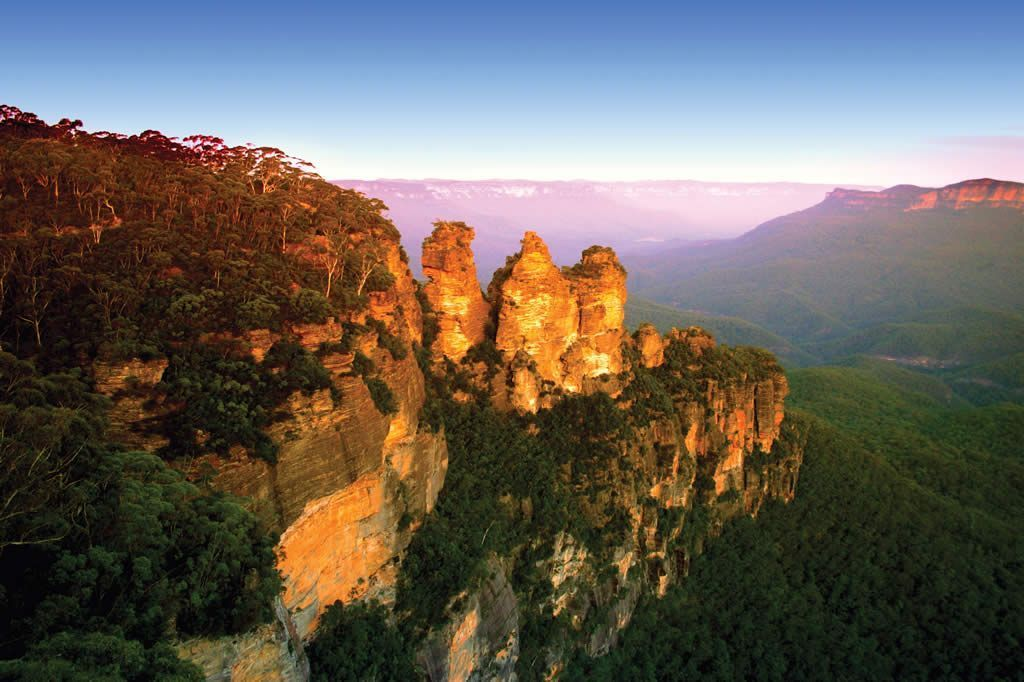 The Blue Mountains. sidney