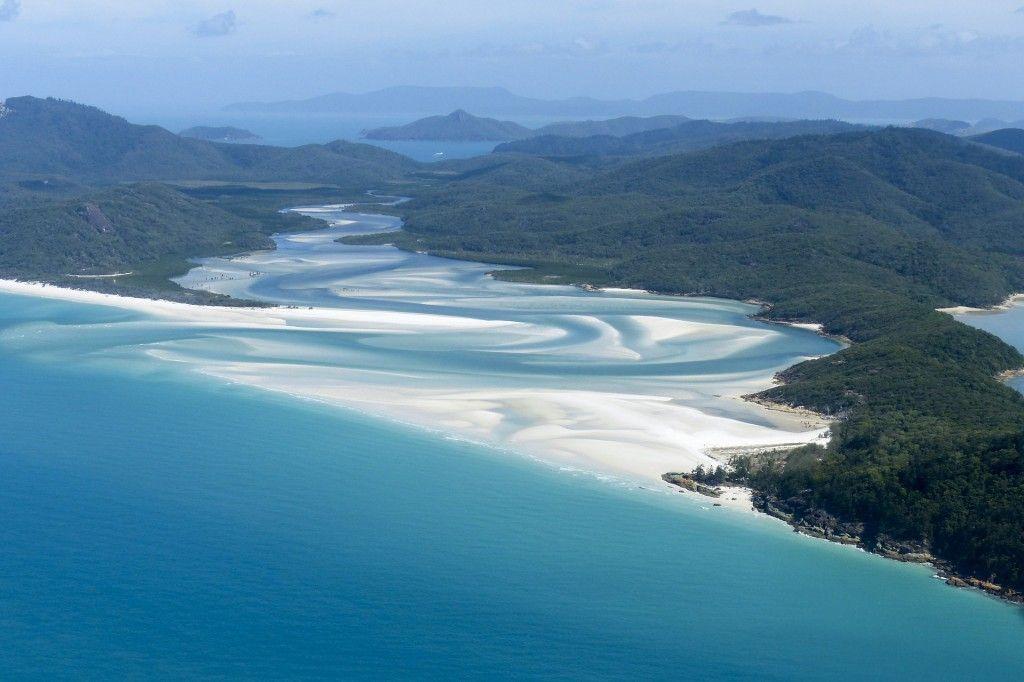 Whitsunday islands, planes en Australia, playas en Australia